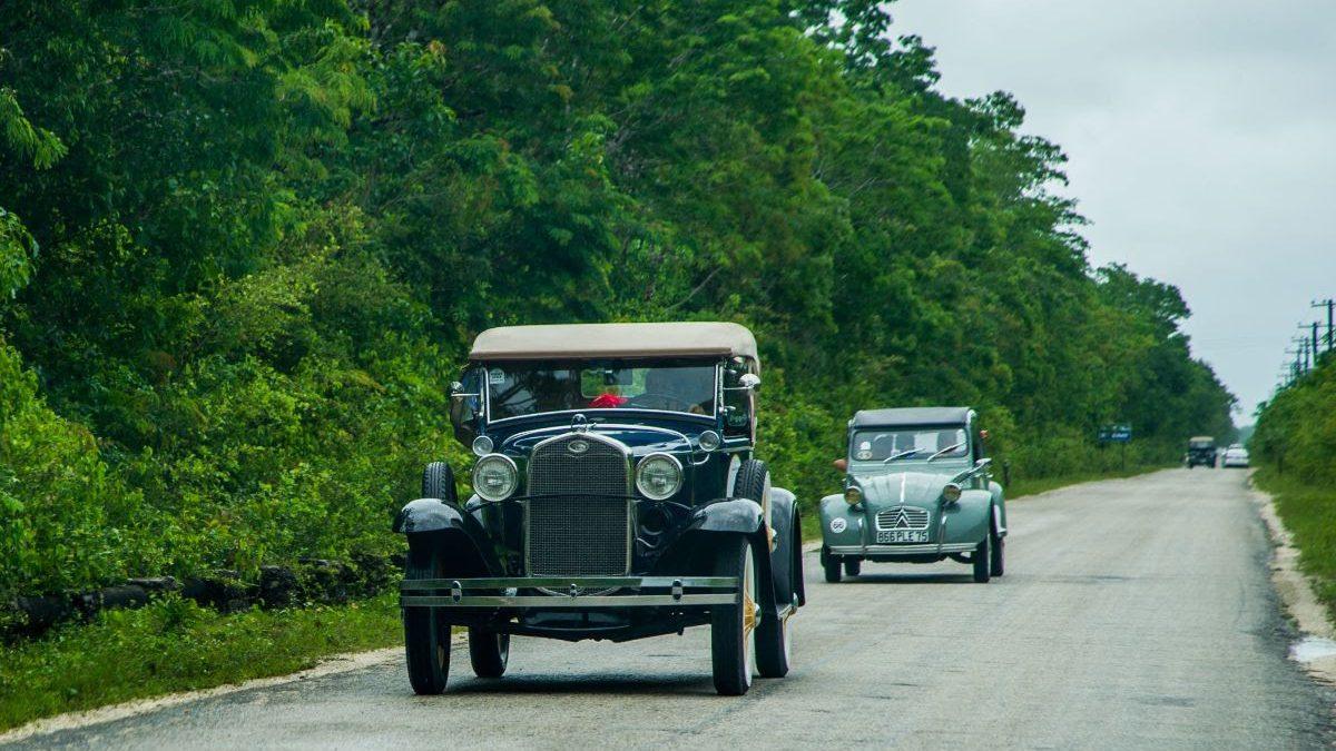 El 'Museo rodante del automovilismo' alista su llegada