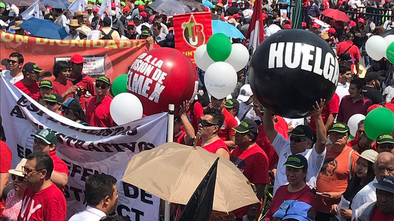 Sin libertad sindical en nuestro país