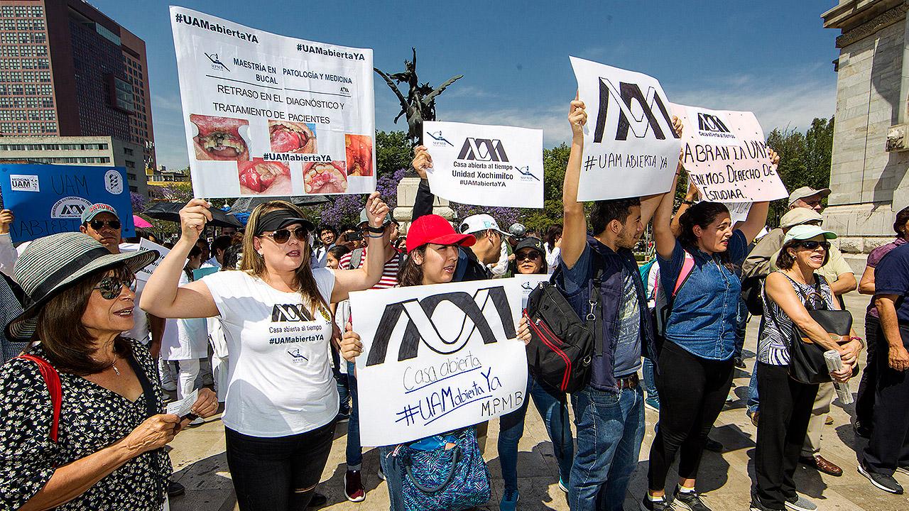 Tras fin de huelga, UAM intentará recuperar trimestre