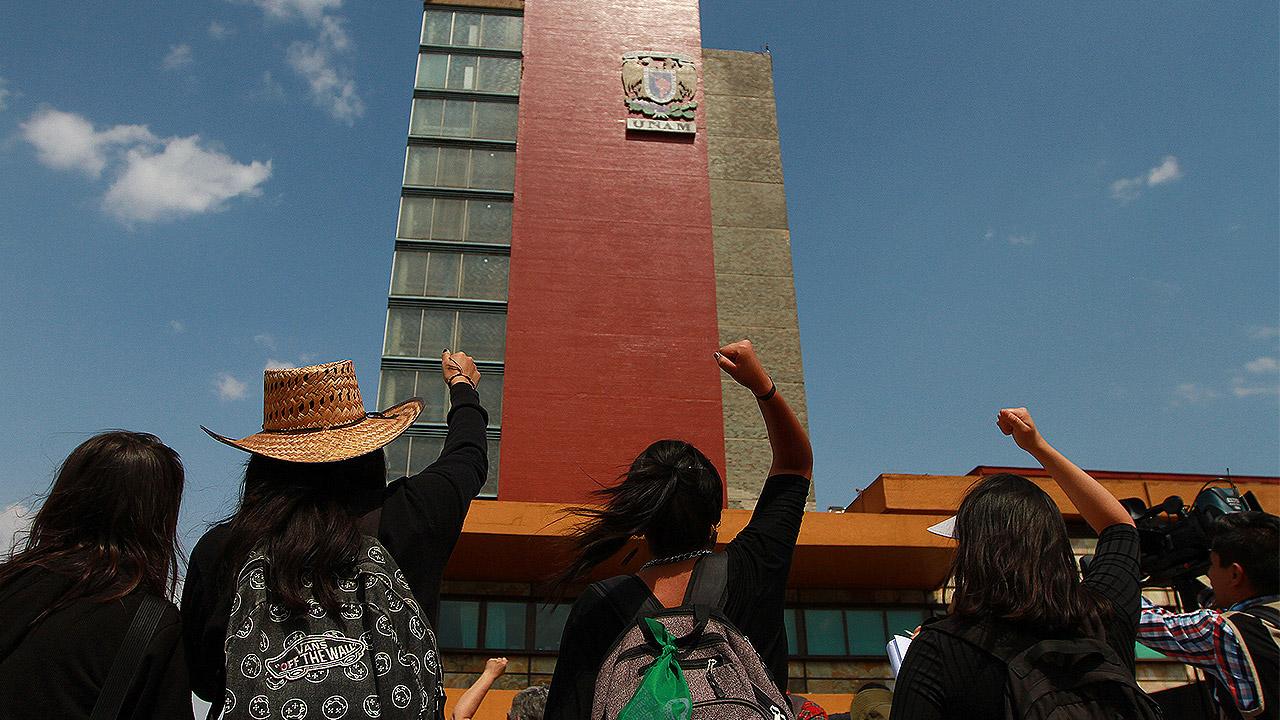 Congreso capitalino pide a UNAM atender denuncias de acoso sexual