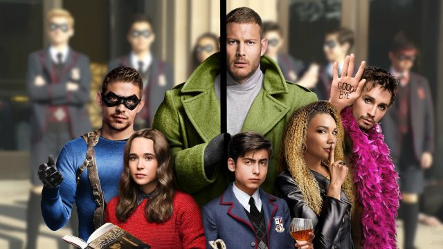 The Umbrella Academy. Foto Netflix.