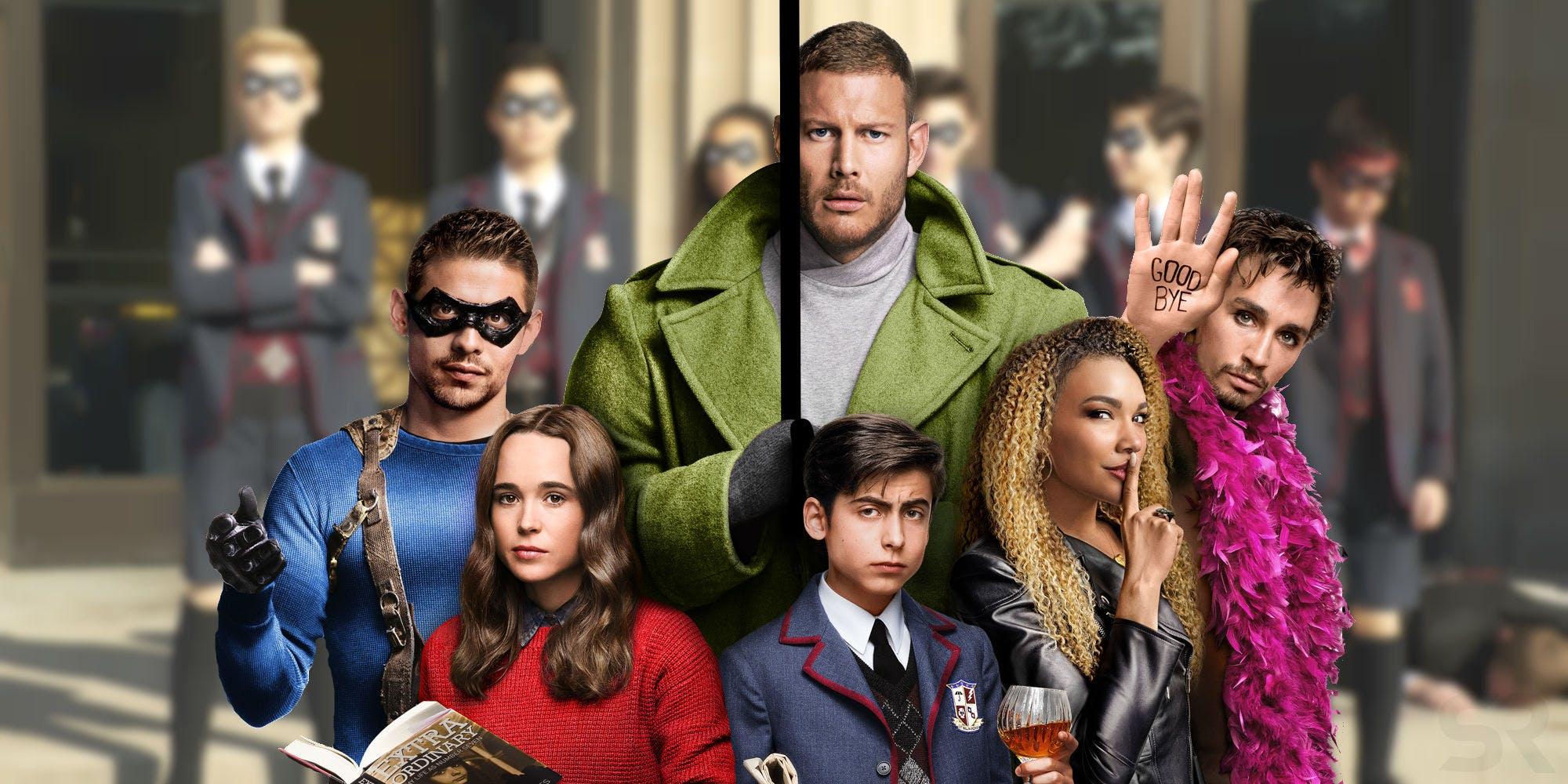 The Umbrella Academy. Foto Netflix.