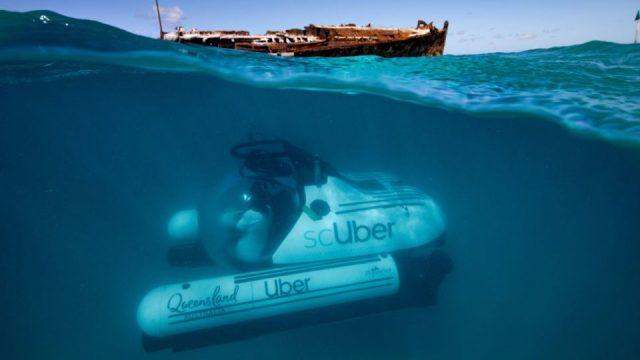 ¿Te gustaría ir al fondo del mar? Uber lanza servicio submarino
