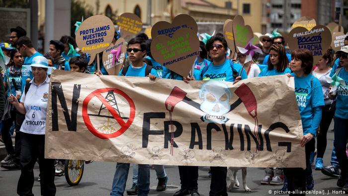 El fantasma del fracking vuelve a amenazar a Colombia