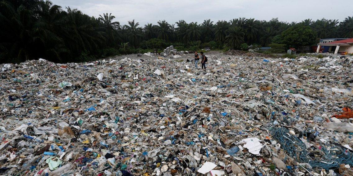 Malasia ya no quiere ser el basurero de las naciones ricas