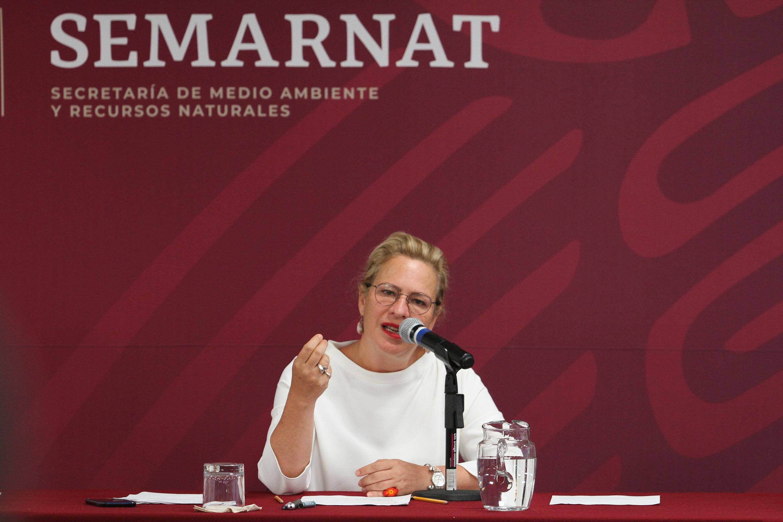 Josefa González Blanco Ortíz Mena renuncia como titular de la Semarnat