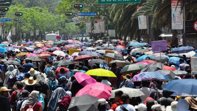 marcha manifestacion