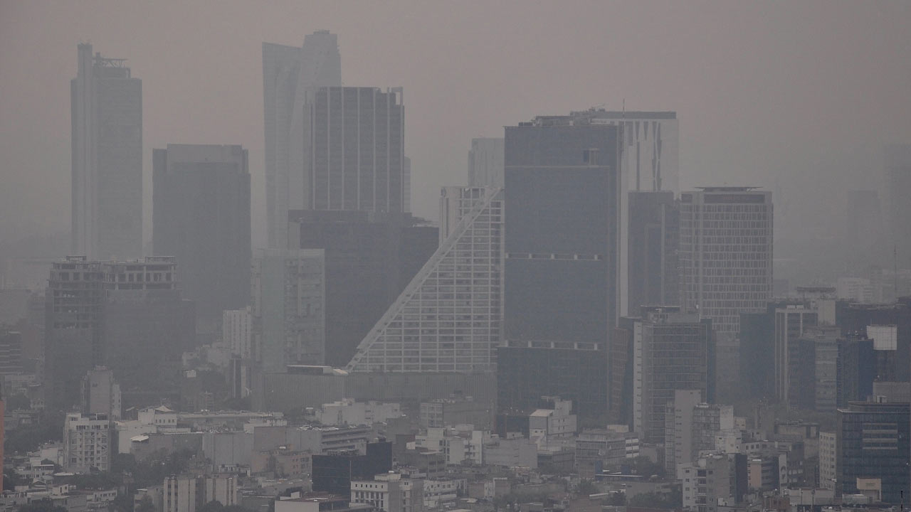 Valle de México suma tercer día de contingencia ambiental atmosférica