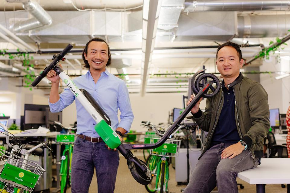 La firma de scooters eléctricos Lime cambió su liderazgo global