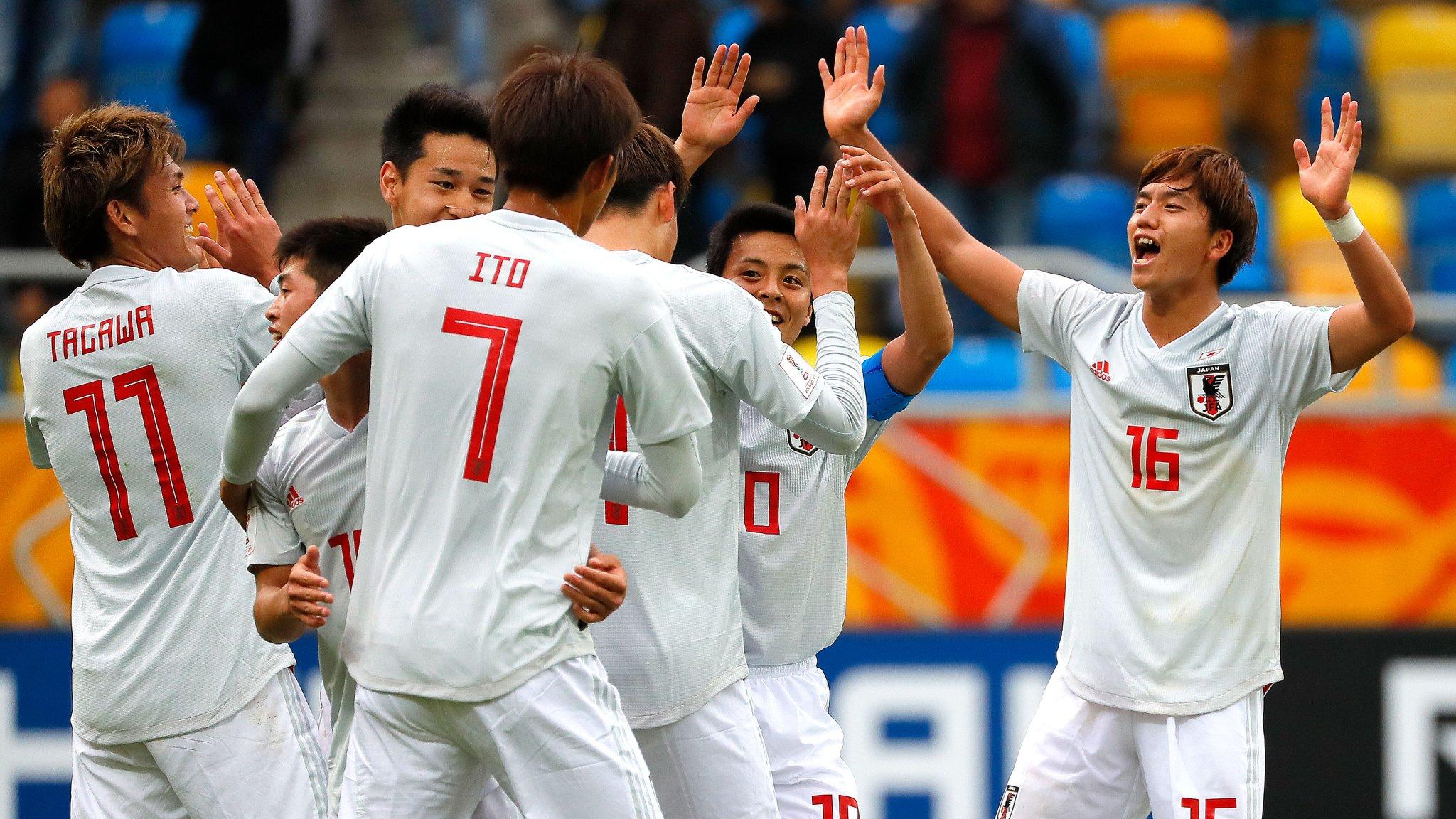 Japón derrota a México en Copa del Mundo Sub 20