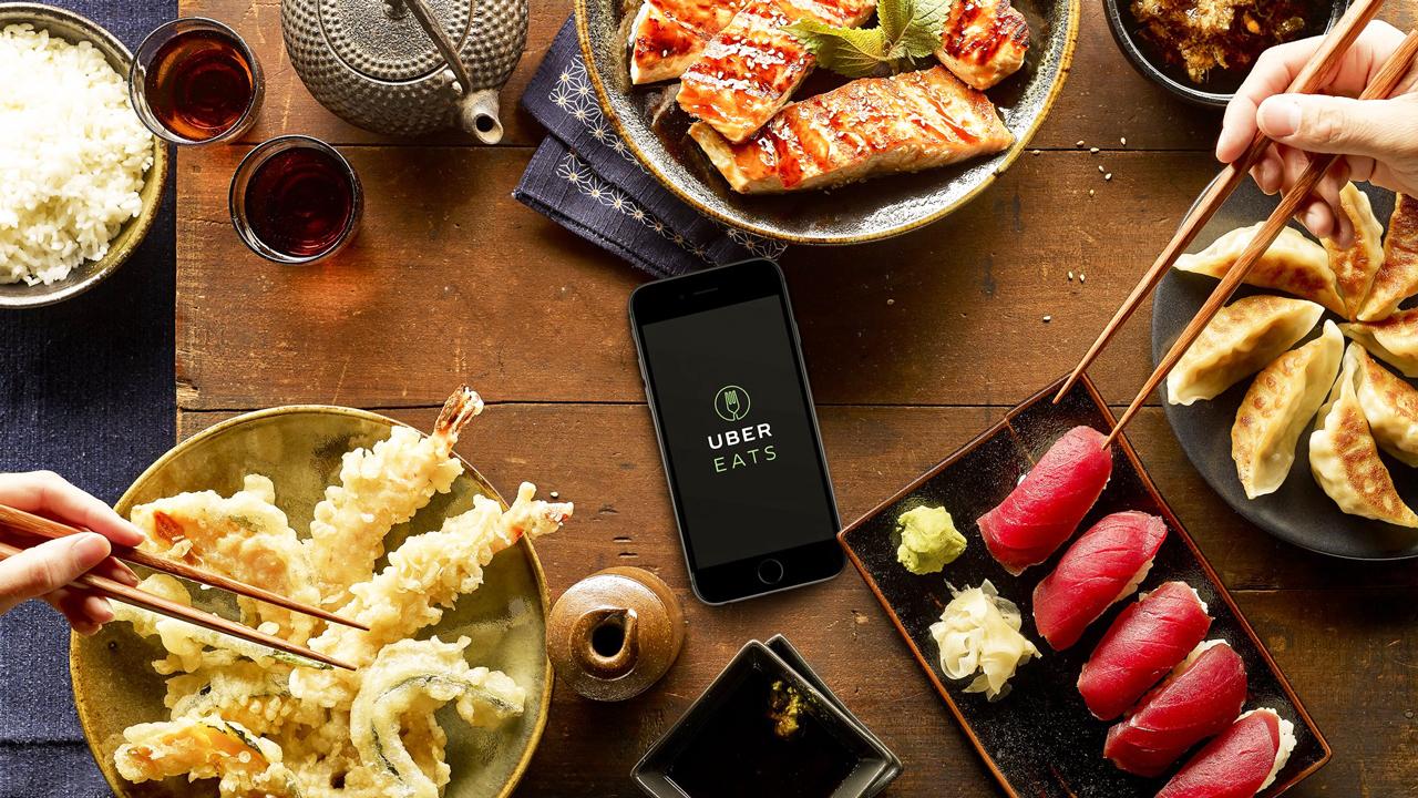 Se tambalea acuerdo entre Uber y GrubHub para fusionar negocio de entrega a domicilio