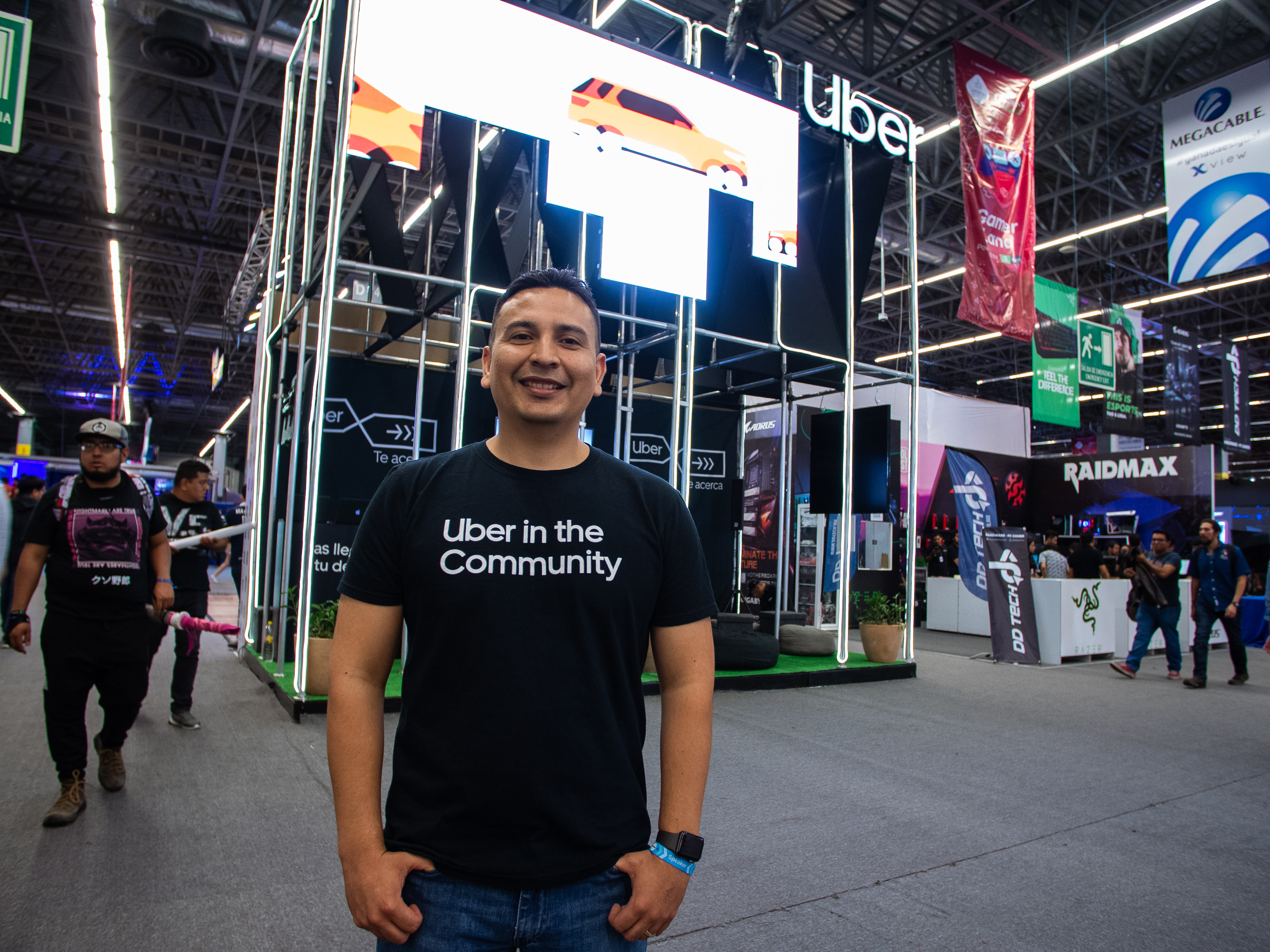 Martín Vélez, un mexicano que trabaja en los vehículos autónomos de Uber
