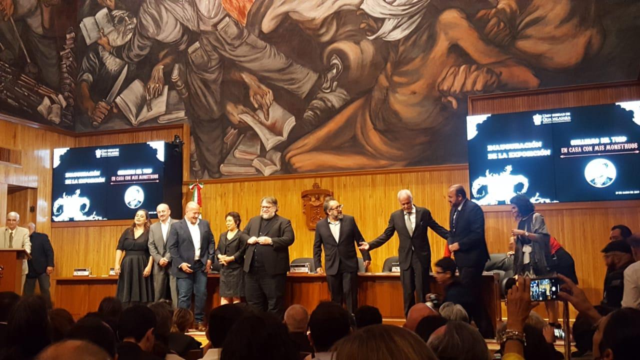 Guillermo del Toro inaugura en Guadalajara su exposición 'En casa con mis monstruos'