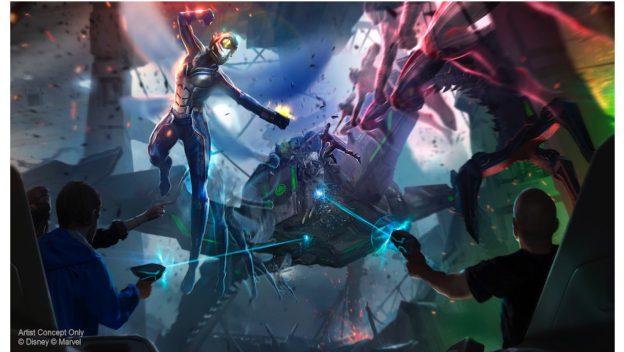 Avengers Disneyland