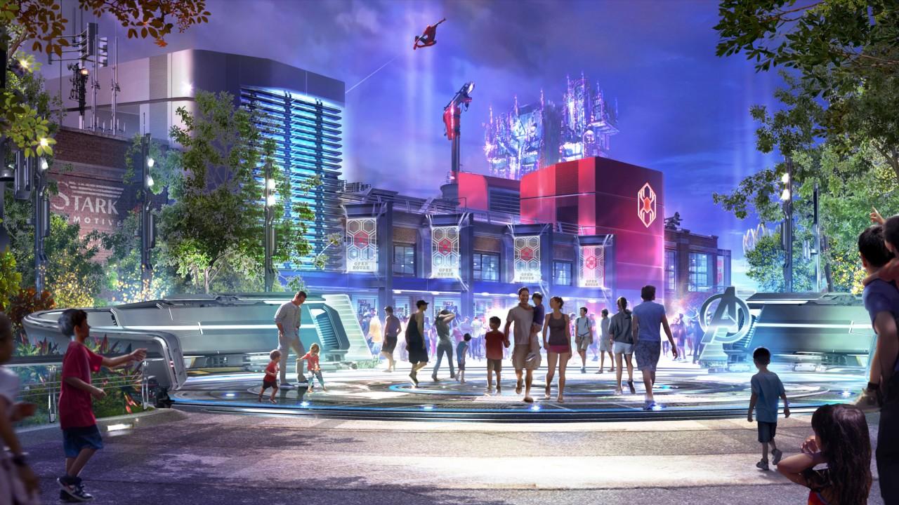 Los Avengers llegan a Disneyland con nuevas atracciones