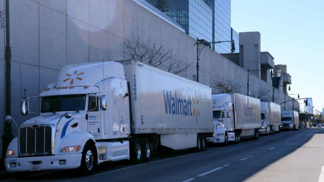 Camión Freightliner Walmart
