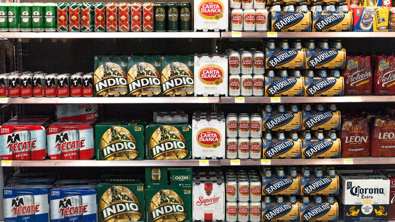 El 69% de las familias mexicanas compra cerveza para consumir en el hogar