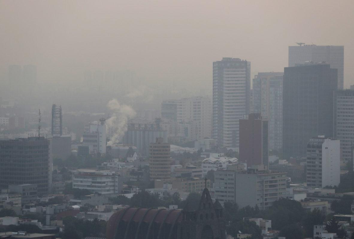 Continúa contingencia ambiental este viernes en CDMX y el Valle de México
