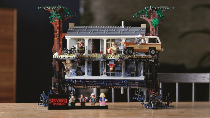 LEGO recrea el 'Upside Down' de Stranger Things