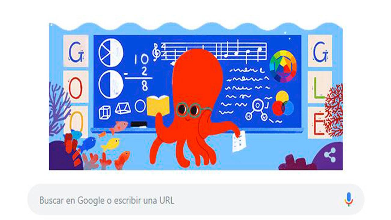 Así celebra Google a los maestros en México