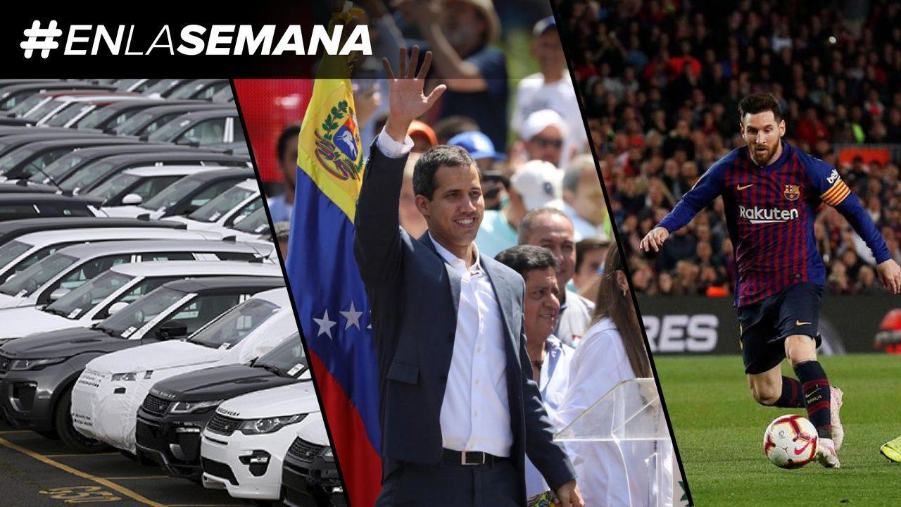 Agenda Forbes | Producción de autos, crisis en Venezuela y semifinales de Champions League