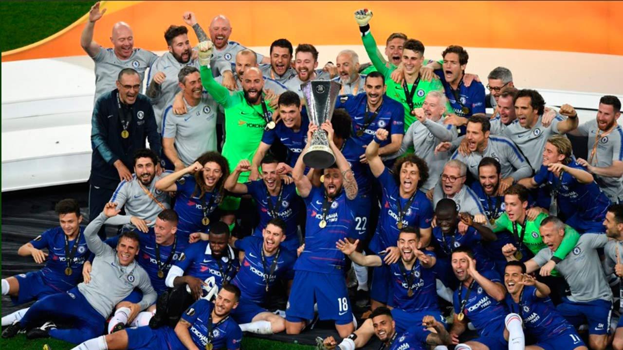 Chelsea golea al Arsenal y se queda con la Liga Europa