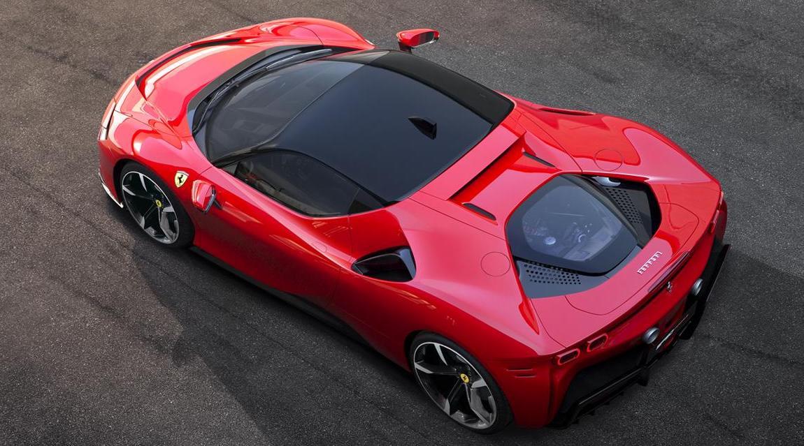 Ferrari SF90 Stradale, el nuevo súper deportivo híbrido
