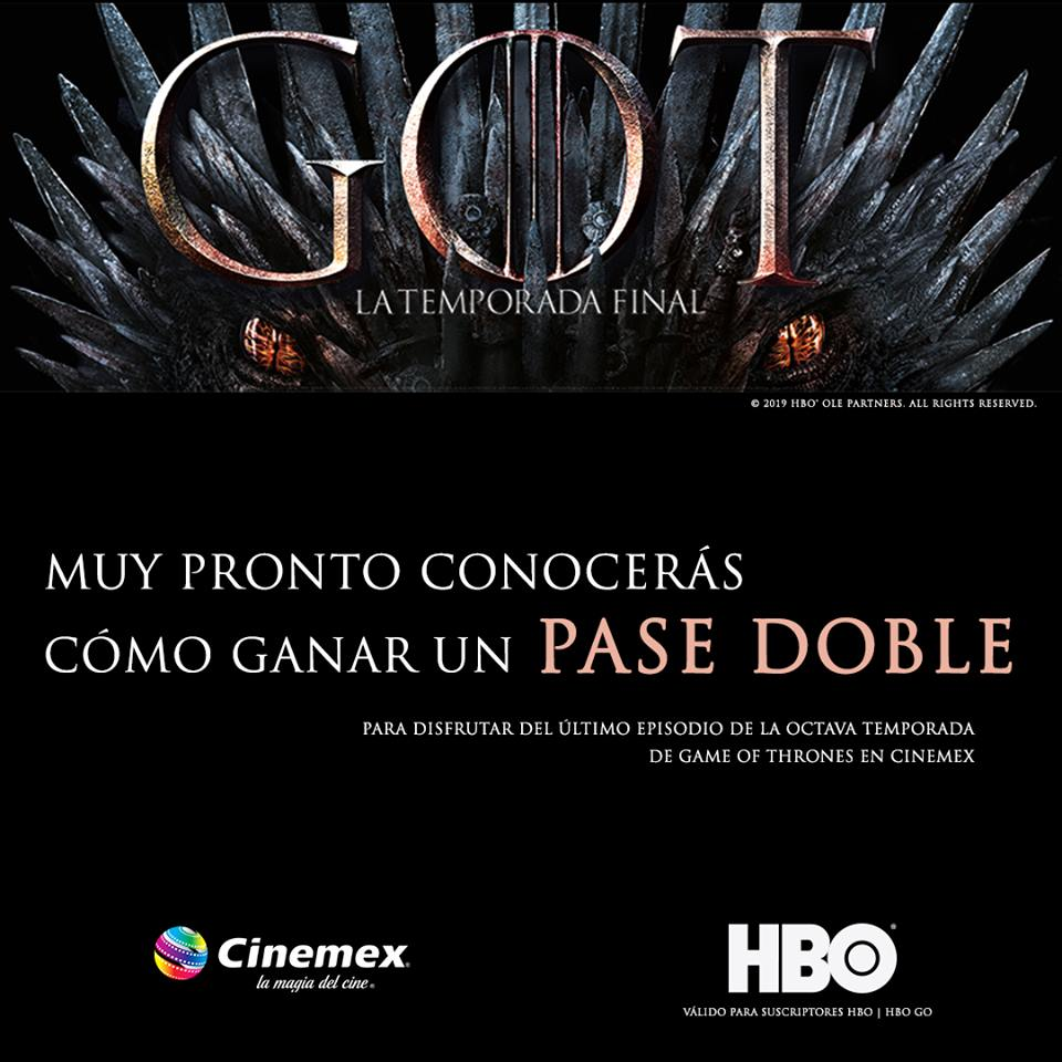 Game of Thrones final cine