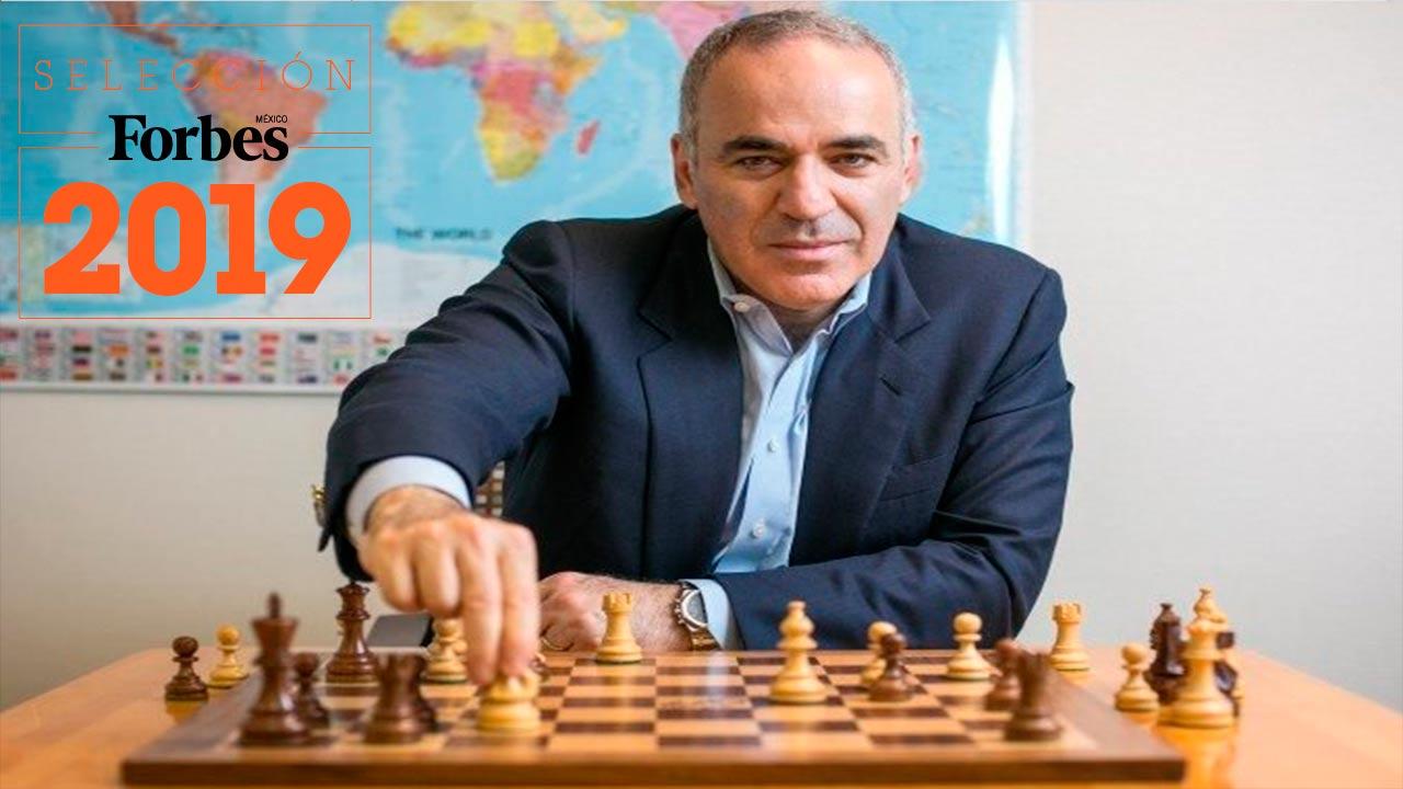 ENTREVISTA | Las máquinas no van a resolver todos nuestros problemas: Garry Kasparov