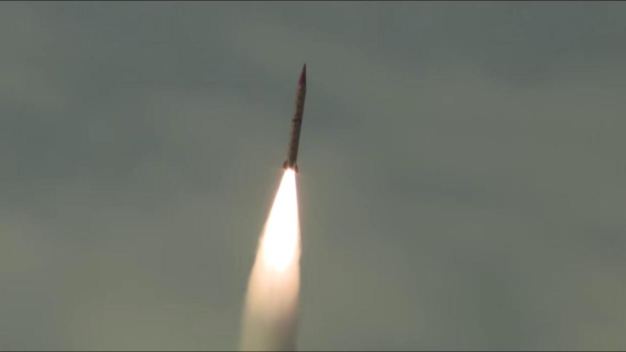 Pakistán lanza con éxito misil balístico con capacidad nuclear