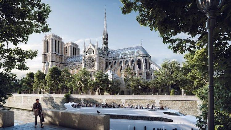 Así podría lucir Notre Dame después de su reconstrucción