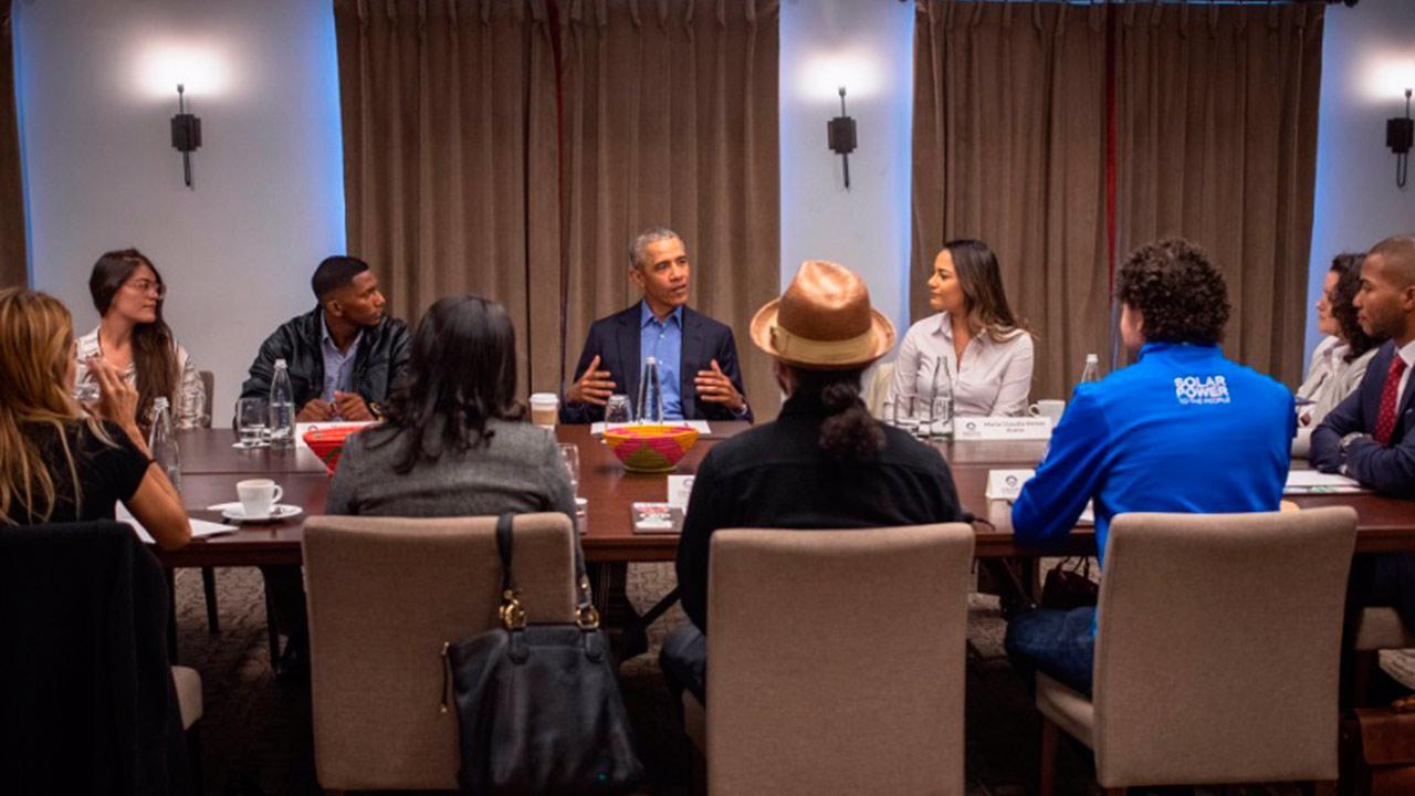 Es momento de nuevos líderes, no sólo de políticos o religiosos: Obama