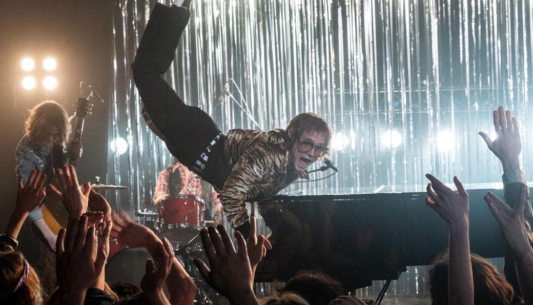 El estreno de 'Rocketman' impacta Spotify