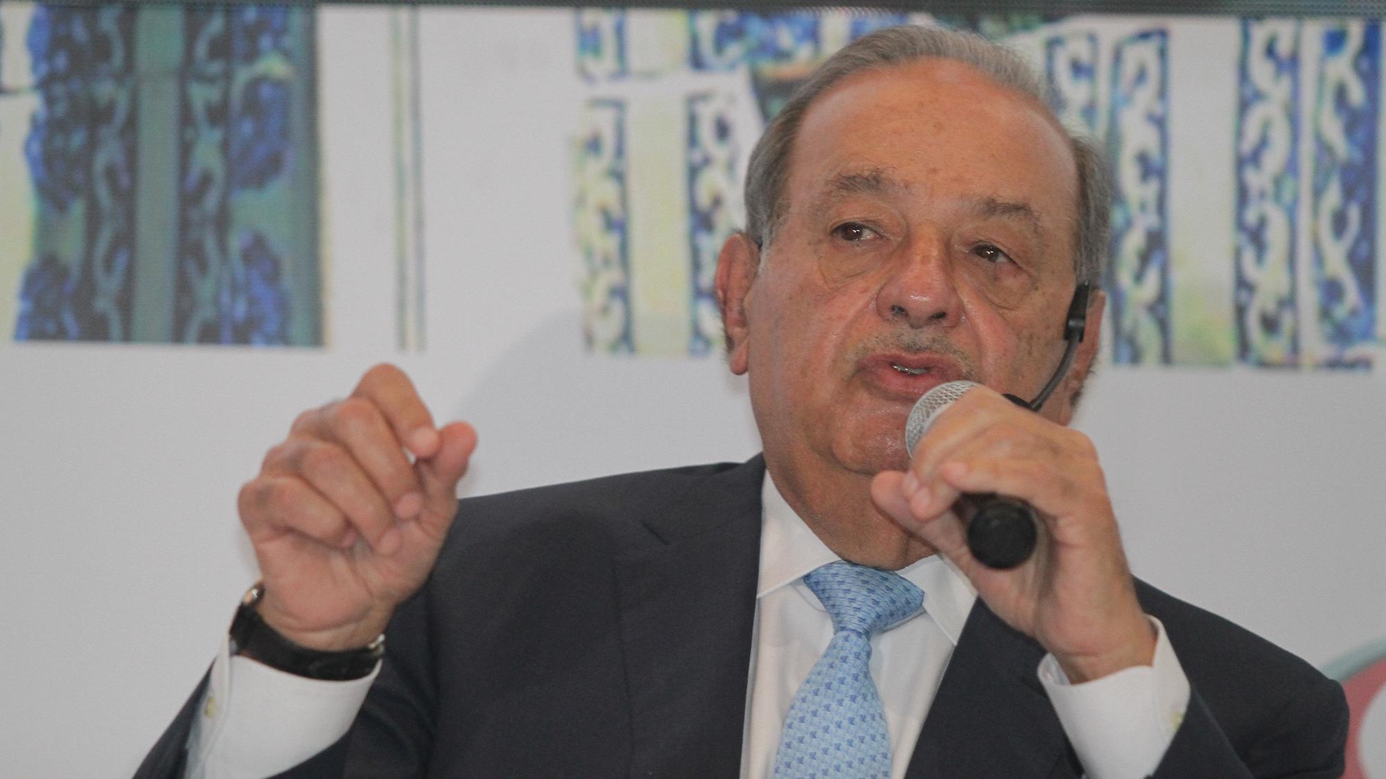 Carlos Slim envía a AMLO un mensaje de apoyo ante amago de Trump