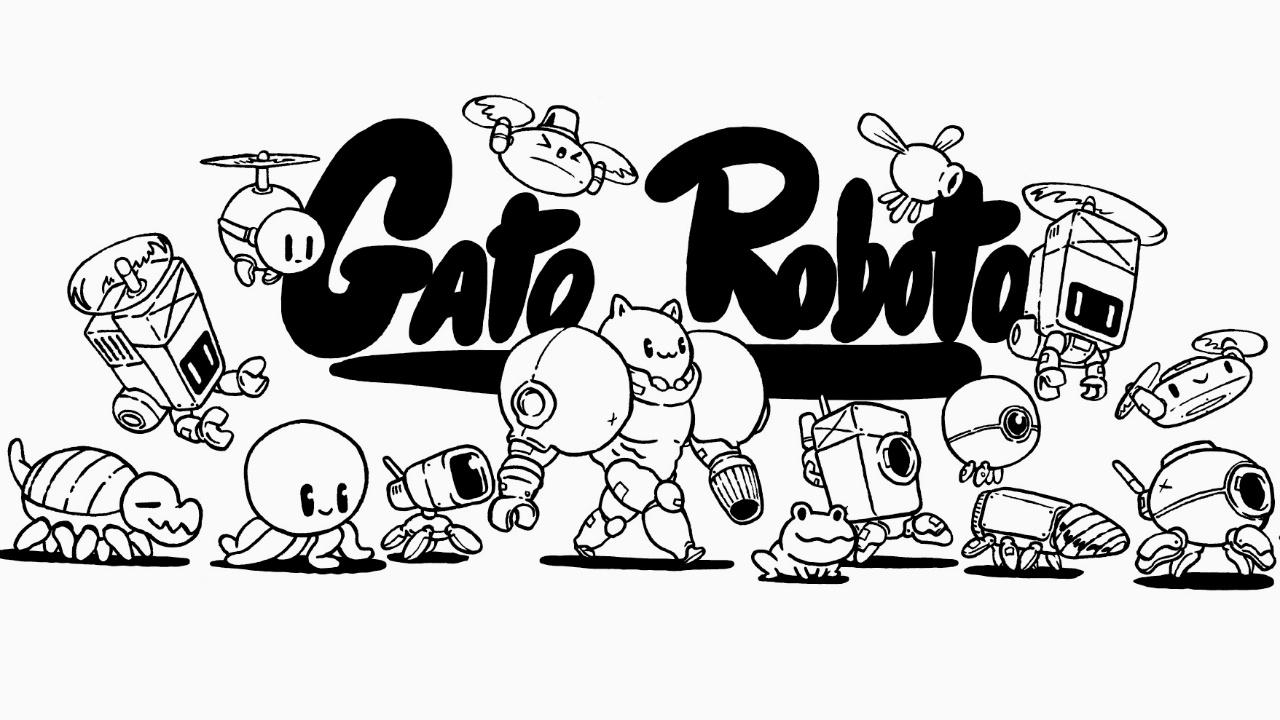 Gato Roboto, moderna aventura estilo Metroid