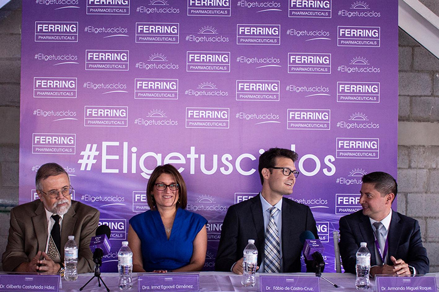 Ferring Pharmaceuticals presenta en México la primera FSH recombinante