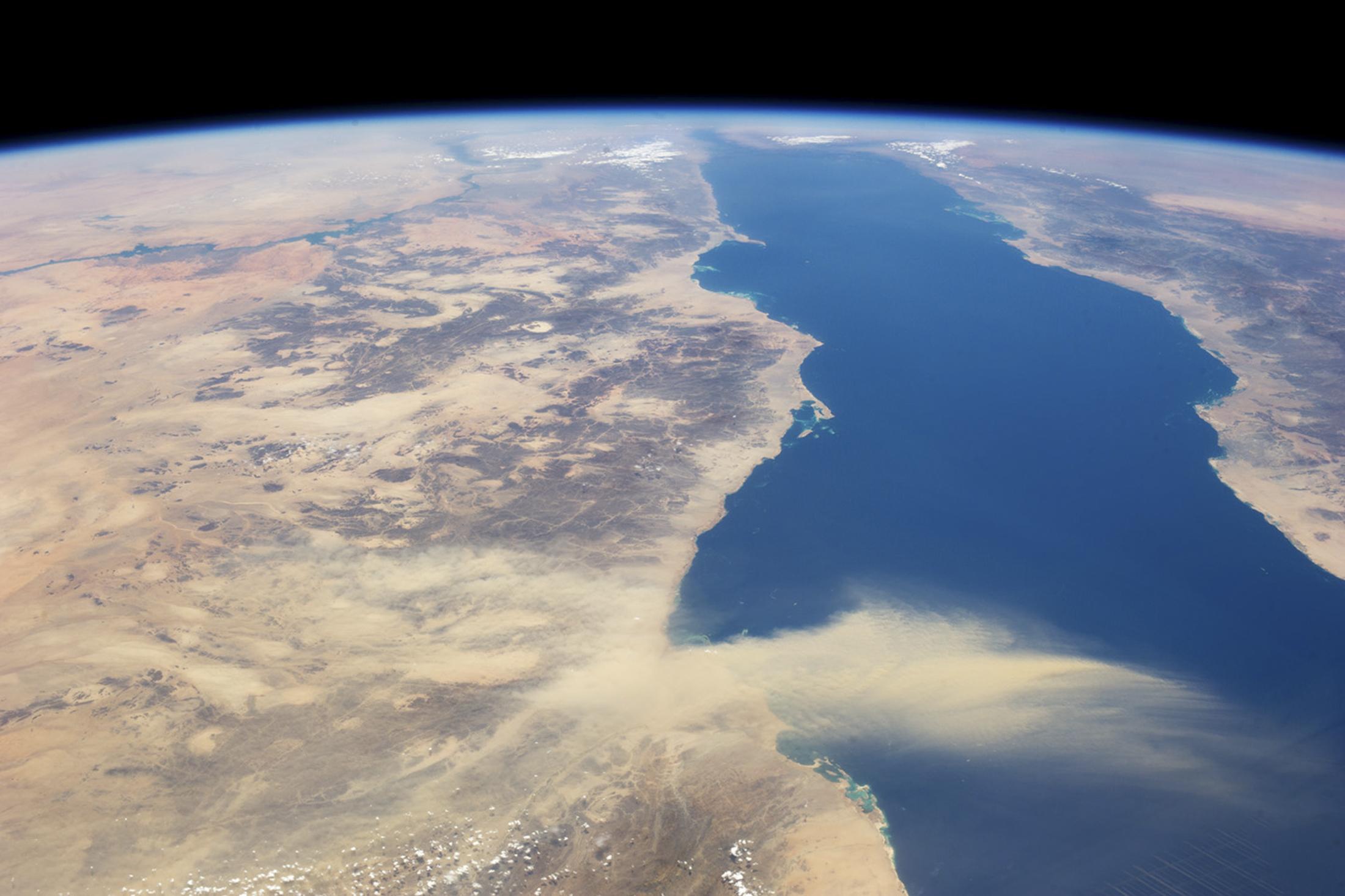 Nube de polvo africana alcanzará a Yucatán y Golfo de México