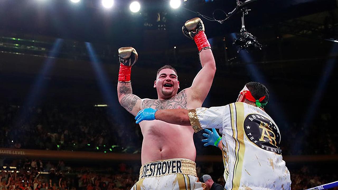 AMLO recibirá al boxeador Andy Ruiz tras histórico triunfo