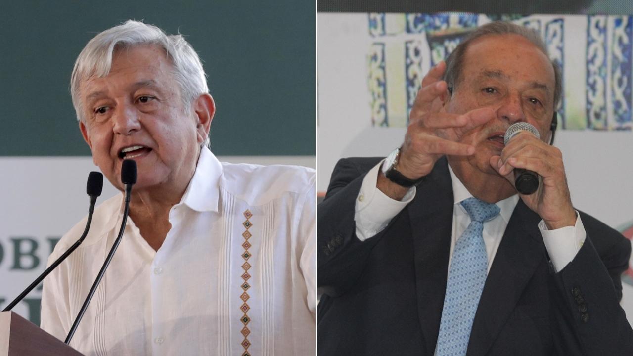AMLO pide a Carlos Slim no cerrar mina en Chihuahua