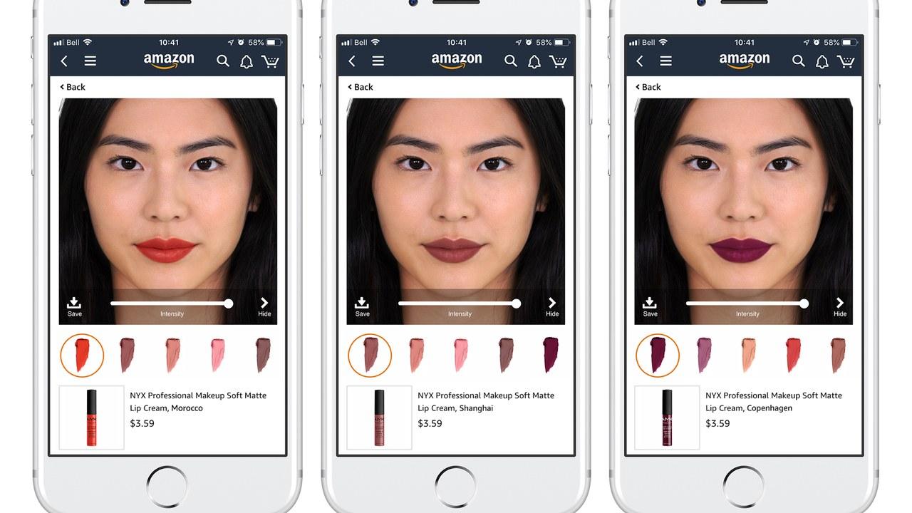 Con realidad aumentada podrás realizar pruebas de maquillaje virtual