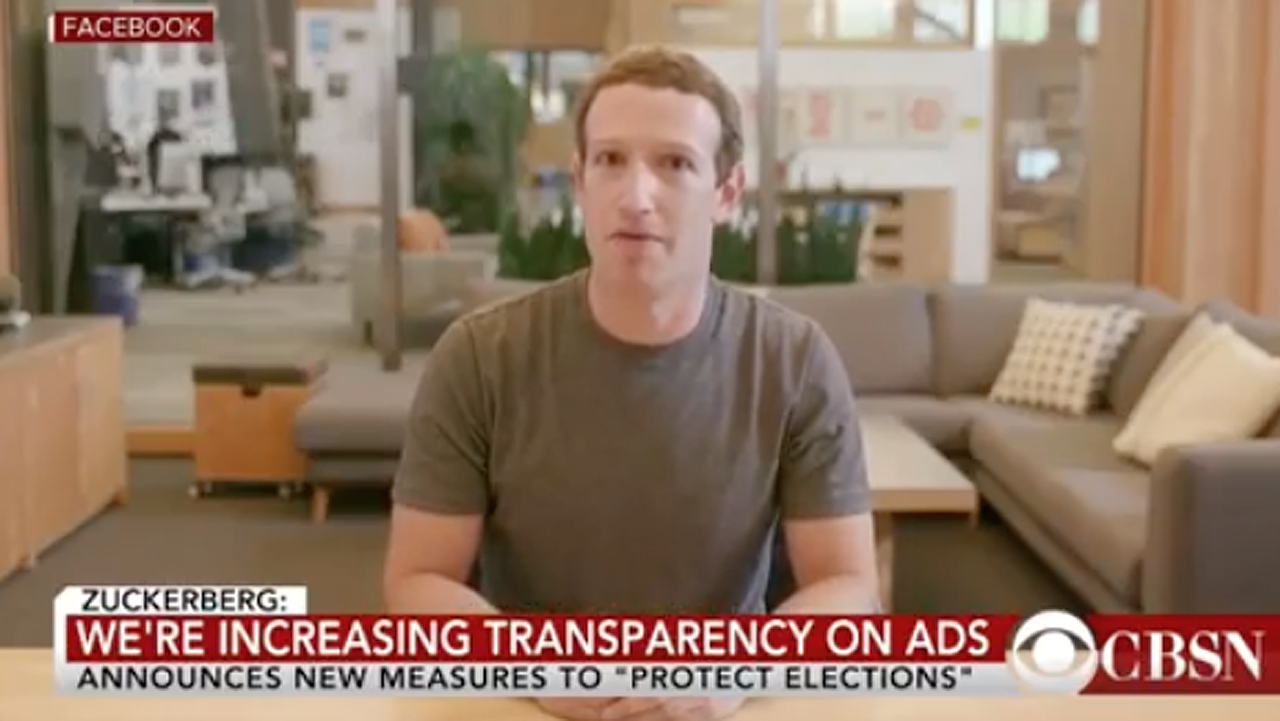 Video falso de Zuckerberg desafía las reglas de Facebook