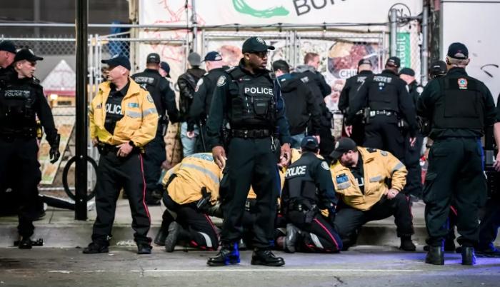 Dos heridos en tiroteo cerca de la celebración de los Raptors