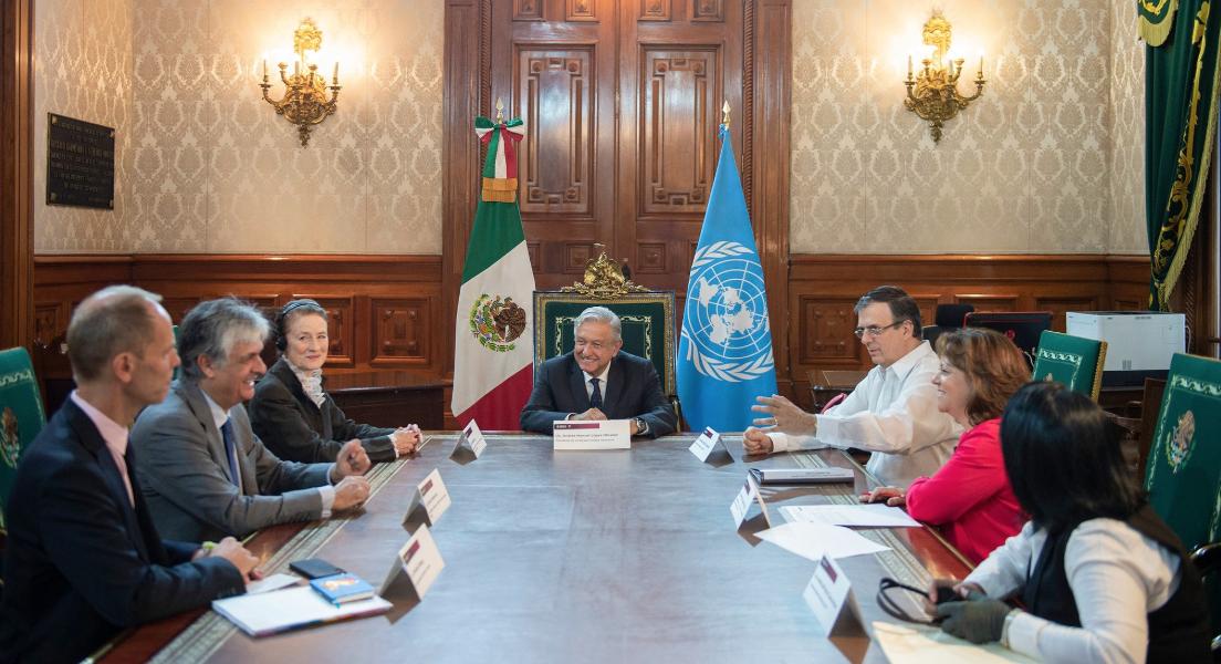 México y Unicef trabajarán juntos en favor de niños migrantes