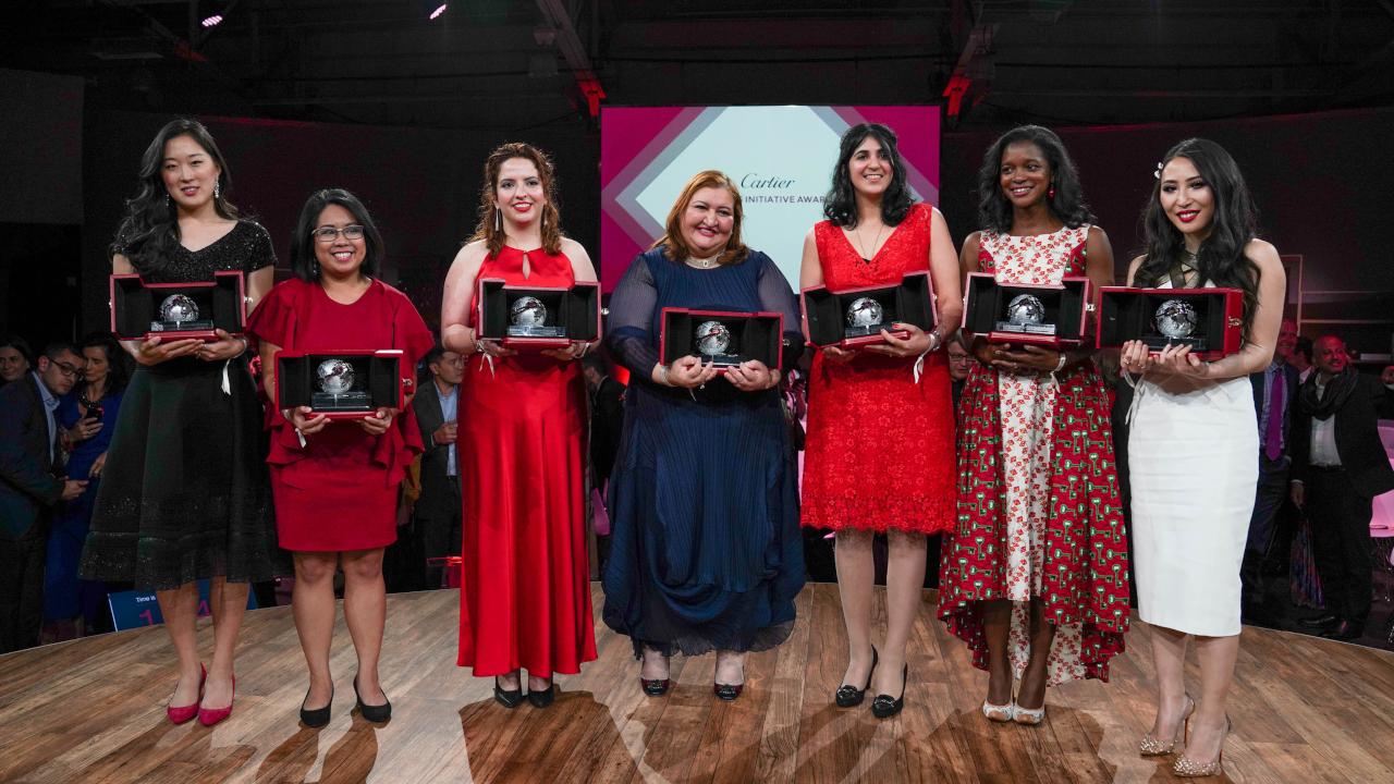 El futuro es femenino: participa en Cartier Women's Iniciative