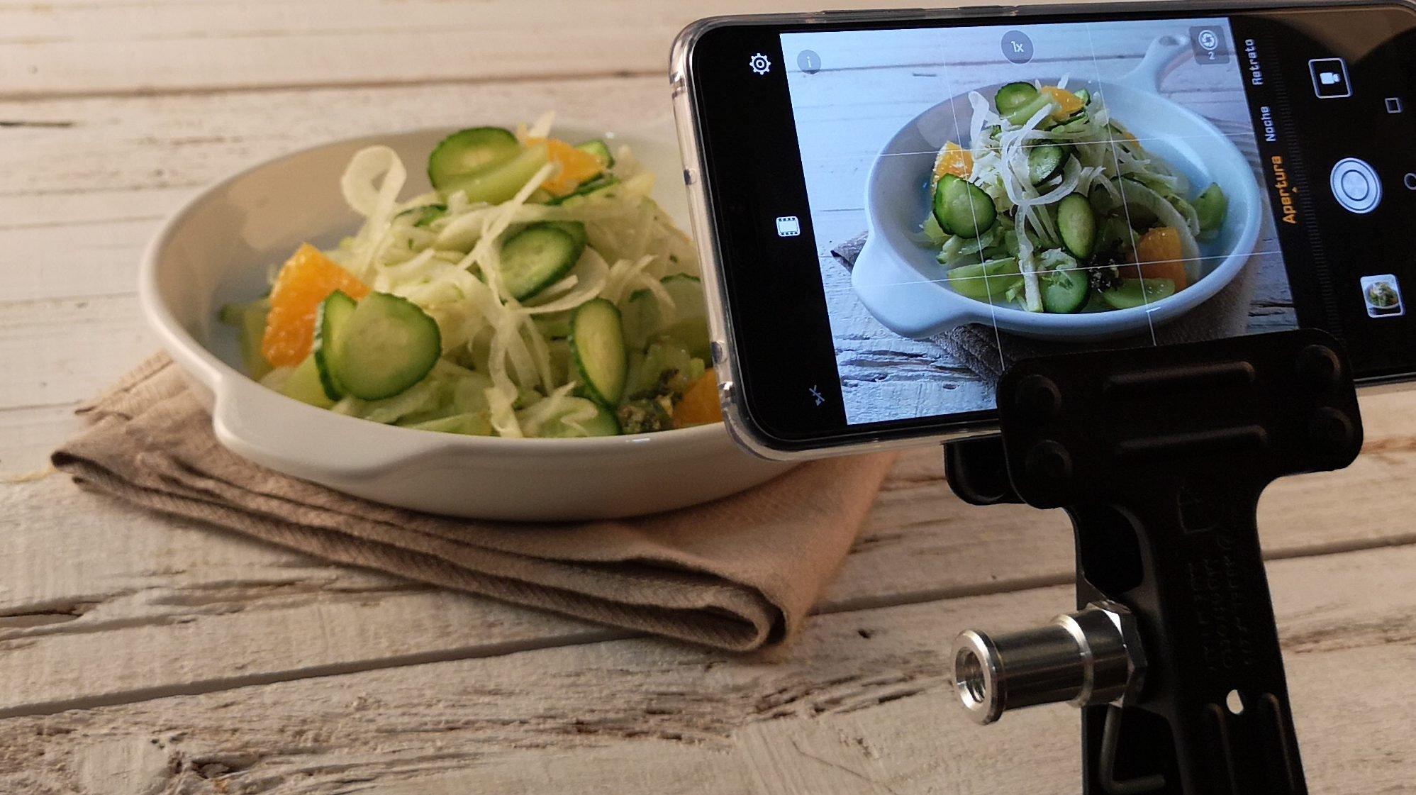 Cuenta las calorías de tus alimentos con tu smartphone