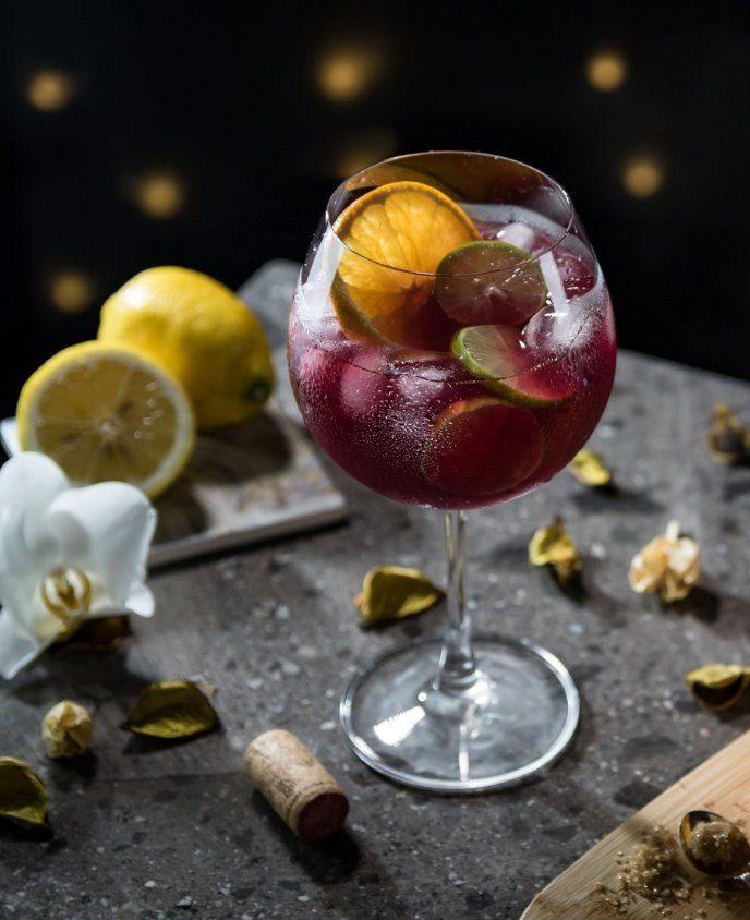 cocteles vino