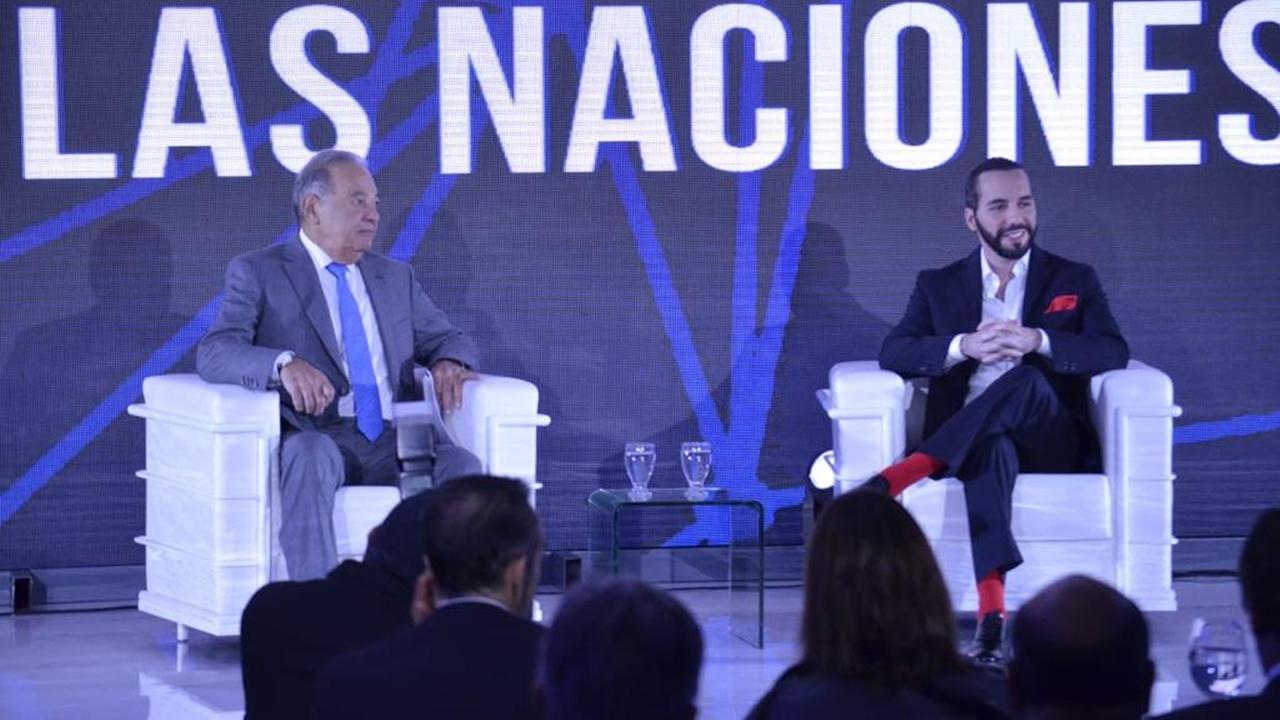 El Salvador está para salir adelante, afirma Carlos Slim ante Bukele
