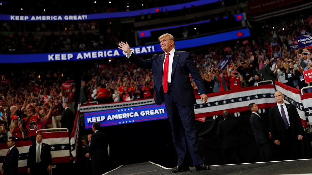 Trump lanza oficialmente su campaña por la reelección a la presidencia de EU