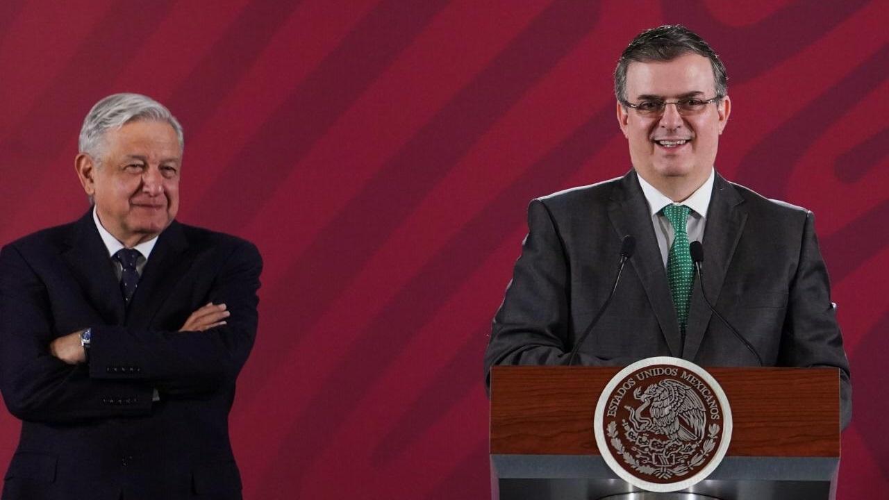 Plan para frontera sur fue propuesto por México a EU: Ebrard