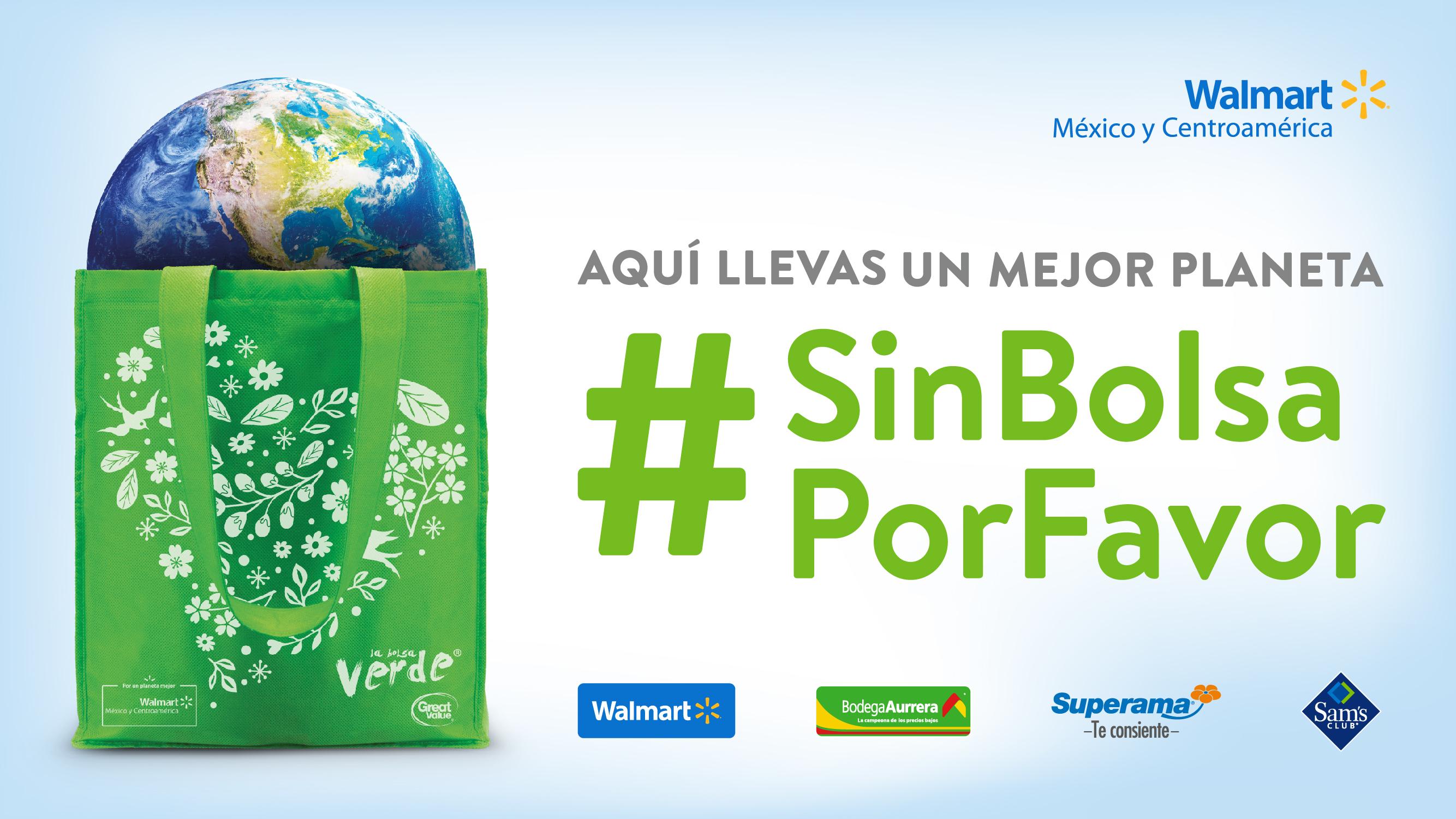La próxima vez que realices tus compras pide #SinBolsaPorFavor